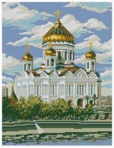 Схема Храм Христа Спасителя
