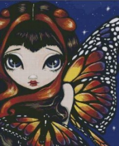 Схема Фея Яркая Бабочка