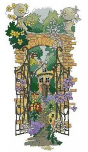 Схема Тайный сад