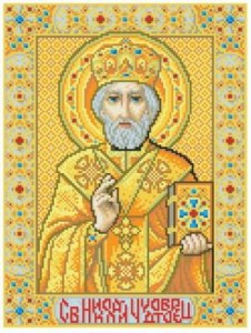 Схема Икона Св. Николай Чудотворец