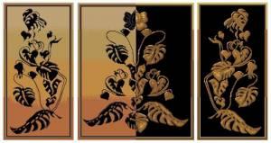 Схема Золотая середина. Триптих