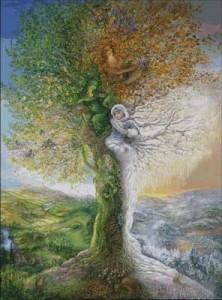 Схема Дерево времён года
