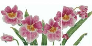 Схема Орхидея Цимбидиум. Триптих