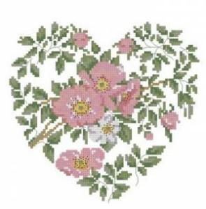 Схема Французские розы