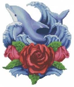 Схема Дельфины и розы