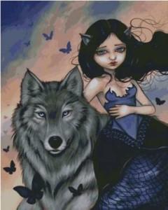 Схема Серебряный волк
