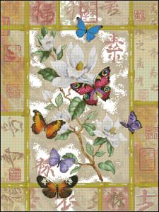 Схема Бабочки - китайский стиль