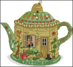Схема Чайник домик