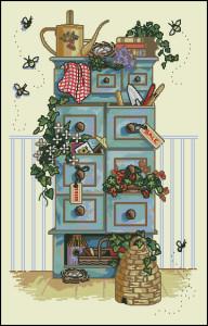 Схема Комод cадоводства / Dimensions 13651, Gardening Chest