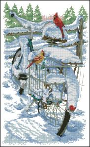 Схема Птицы на велосипеде