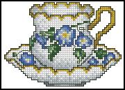 Схема Чашка / Cups Line 1