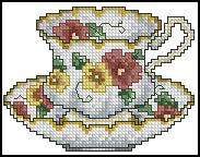 Схема Чашка / Cups Line 2