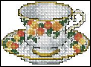 Схема Чашка / Cups Line 3