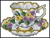 Схема Чашка / Cups Line 4