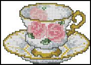 Схема Чашка / Cups Line 5