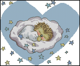 Схема Малыш спит