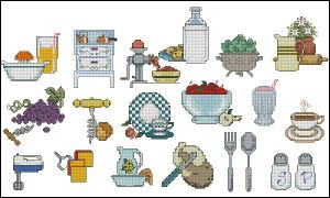 Схема Маленькие кухонные мотивы