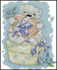 Схема Поздравительная открытка