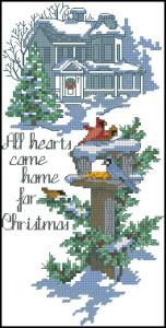 Схема Домой на рождество