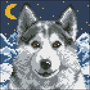 Схема Подушка - Полярный волк