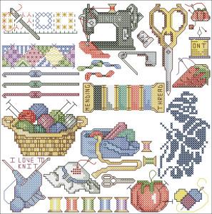 Схема Рукоделие / Needlework
