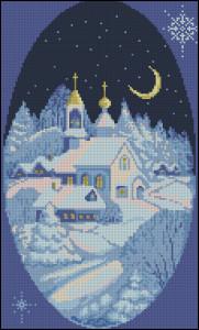 Схема Ночь перед Рождеством