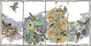 Схема Сезонные птицы