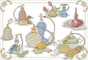 Схема Хорошие духи / Pretty Perfumes