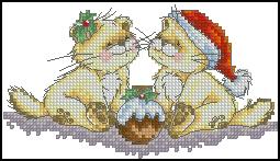 Схема Рождественский пудинг