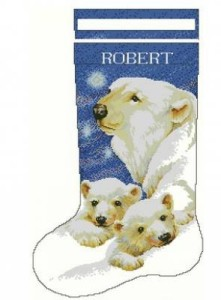 Схема Сапожок. Белые медведи