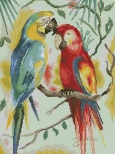 Схема Два попугая