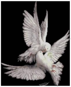 Схема Моя голубка