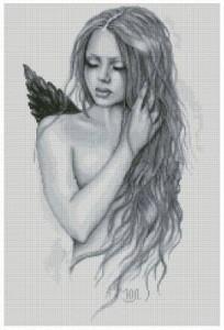 Схема Скорбящий ангел