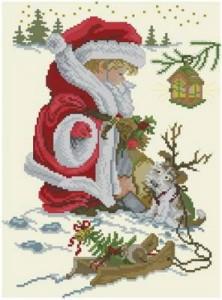 Схема Маленький Санта