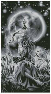 Схема Девушка с эльфами