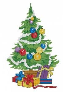 Схема Новогодняя елка