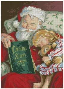 Схема Рождественская история