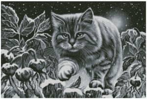 Схема Снежный котик