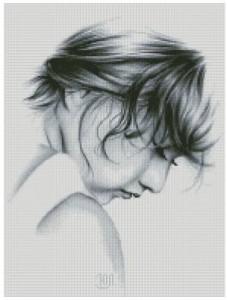 Схема Портрет девушки