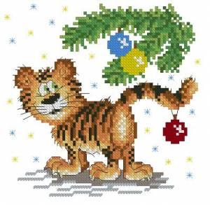 Схема Год тигра