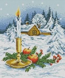 Схема Рождественская композиция