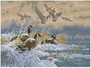 Схема Улетающие утки