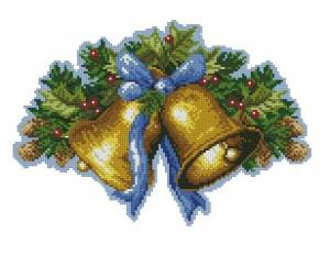 Схема Новогодние колокольчики
