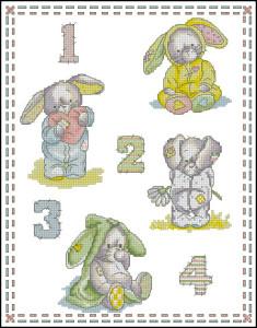 Схема Кролики