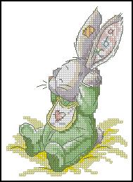 Схема Кролик ребенок