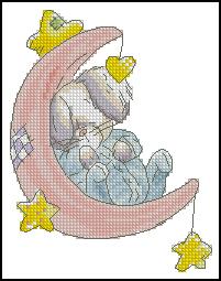 Схема Кролик и луна