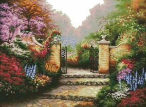 Гламурный сад