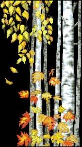 Схема Березовый листопад