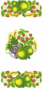 Схема Яблочный спас (Рушник)