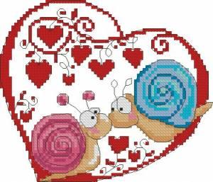 Схема Влюбленные улитки